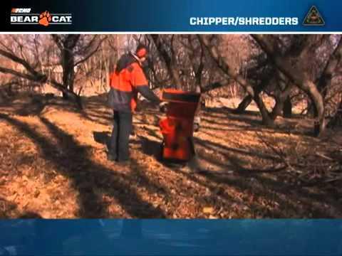 Echo Bear Cat Chipper Shredder