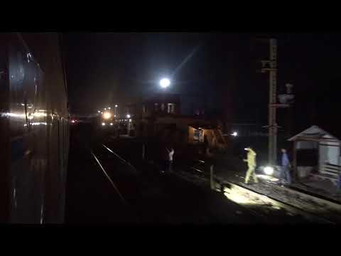 Inaugural 22221 Mumbai CSMT - NZM Rajdhani Express skips Bhusawal Jn !!