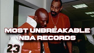 Top 10 Most Untouchable & Unbreakable NBA Records of all time!!