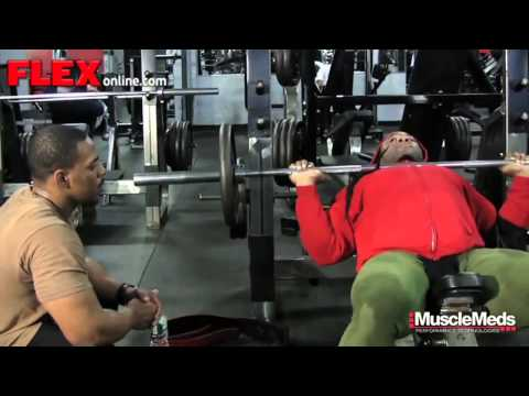 Train with Kai Greene Chest Workout