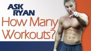 How Many Days a Week to Workout? Drinking Water During Workouts + 2x Day Workouts?