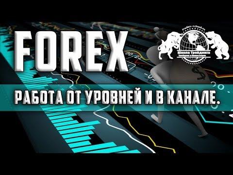 Форекс - Работа от уровней и в канале.