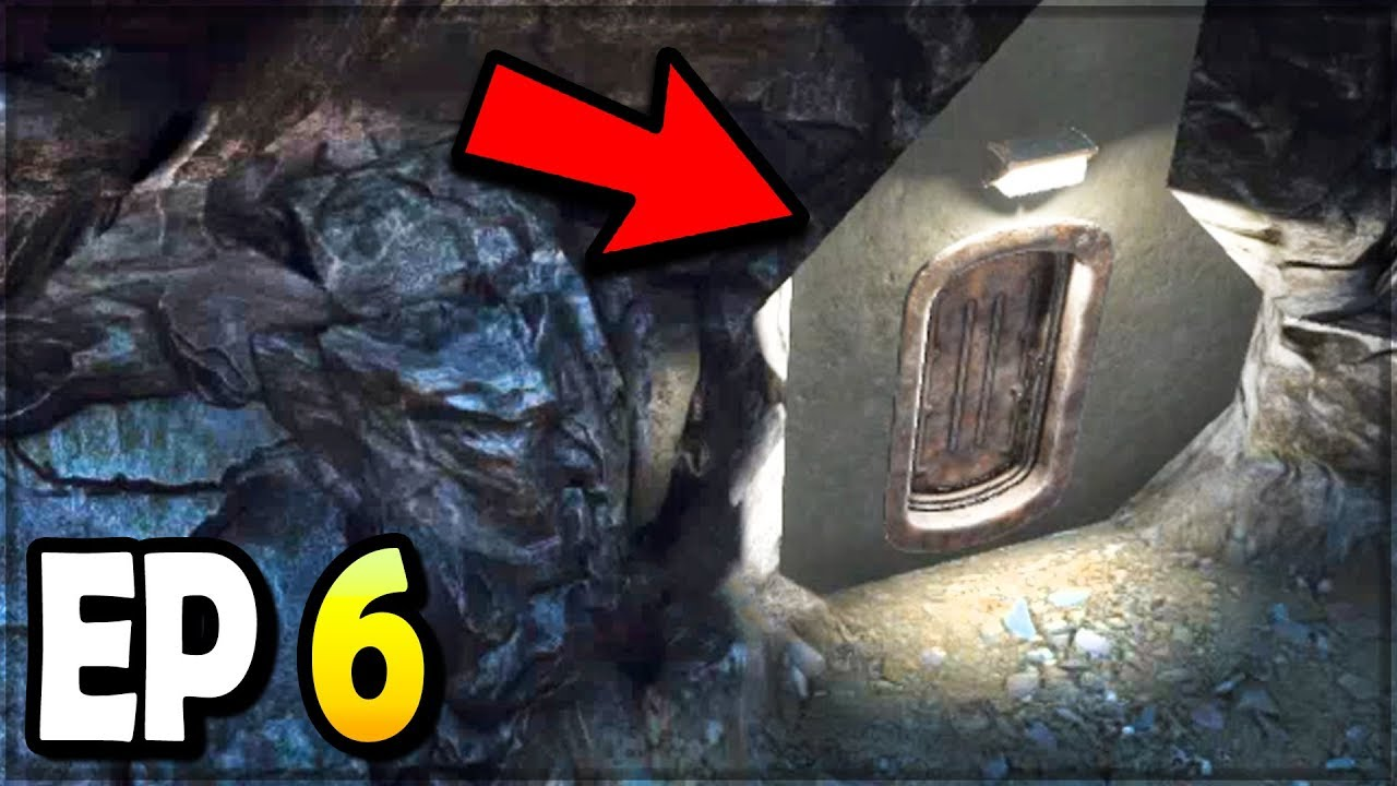 I Found A Secret Bunker Turret And Airdrop 7 Days To Die Ep 6