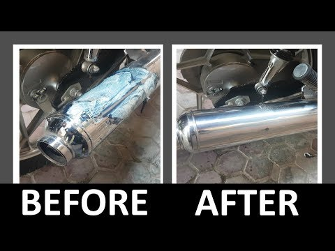 How to Remove Burnt Material from Silencer