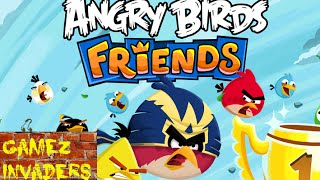 Angry Bird Friends Mobile/Tablet/iphone/ipad Game First Impression Review