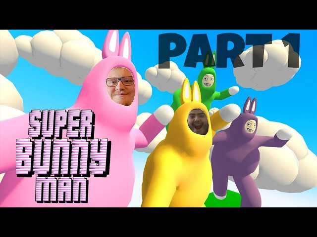WE BECOME BUNNIES! Let's Play Super Bunny Man ~ Part 1