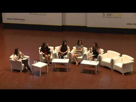 SB2015-Istanbul 4.Oturum | Güneş Enerjisi Sektöründeki Kadınlar