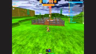 Roblox Holloween game 2011, first time I met roblox, AND the MVP Badge!