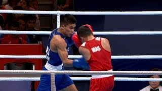 Philippines vs Malaysia | Boxing M Light Flyweight 46-49kg - Semifinal | 2019 SEA Games