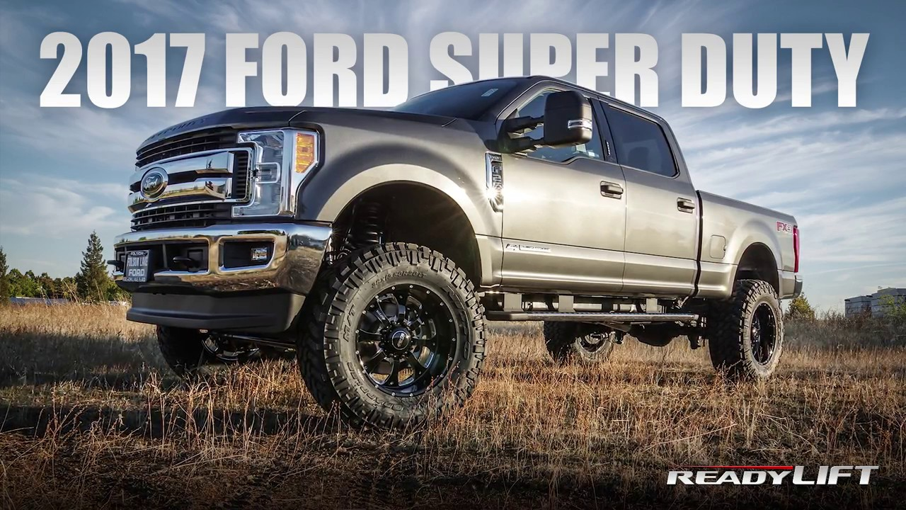 2017 Super Duty Leveling & Lift Kits Available Nov 2016
