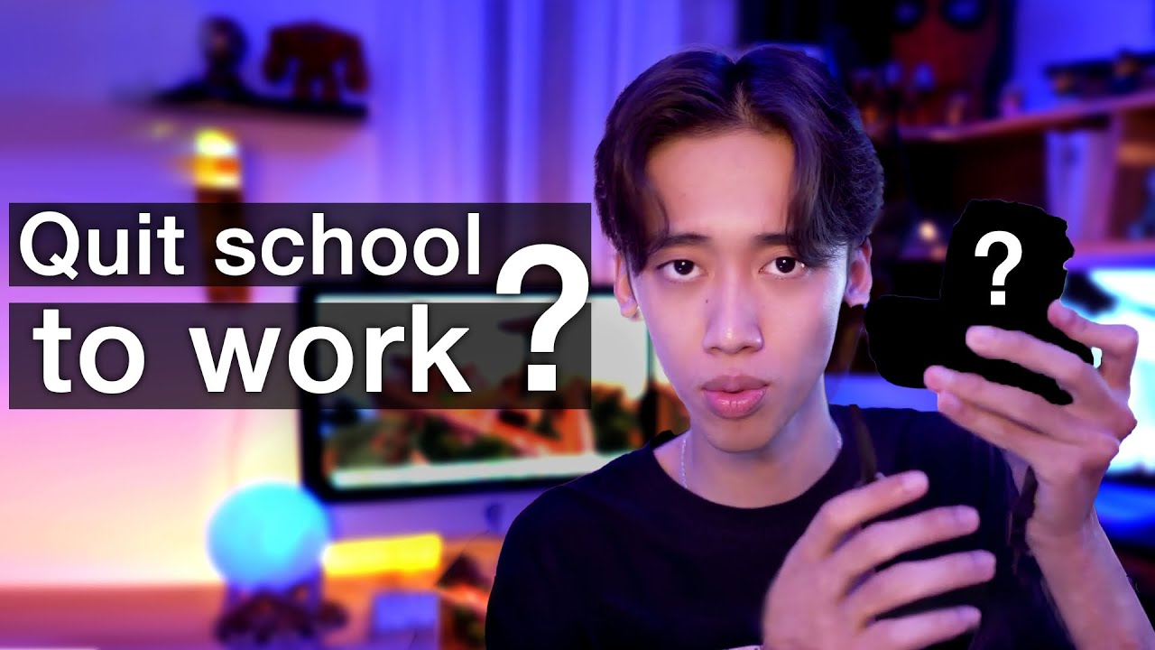 Is it better to work and not go to the university? (Kenjumboy - Talk to myself #3)