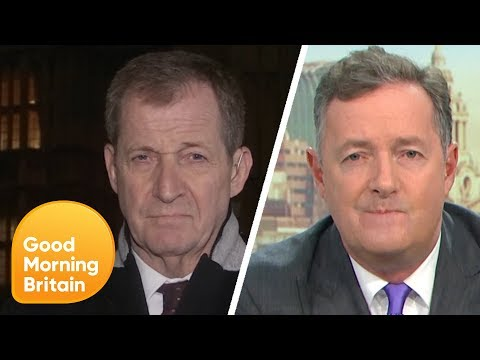 Alastair Campbell And Piers Row Over The Election Result | Good Morning Britain