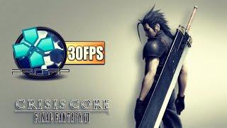 Crisis Core: Final Fantasy VII (PPSSPP) | EMULADOR DE PSP NO PC | 30FPS