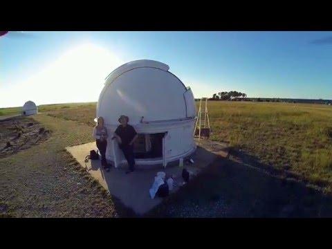 Observatoire du club d'astronomie AED à Cestas -  DJI F550 Laurent Courier
