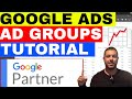 Google Ads Ad Groups: How Many Keywords Per Ad Group   ✅  ✅  ✅