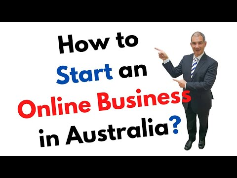How To Start An Online Business In Australia?