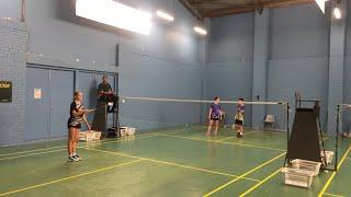 U17 Australasian Championship Dawson/Lily VS Jordan/Starcia