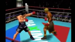Victorious Boxers 2 Fighting Spirit - Mamoru Takumura (me) Vs Brian Hawk (CPU) Hard Mode