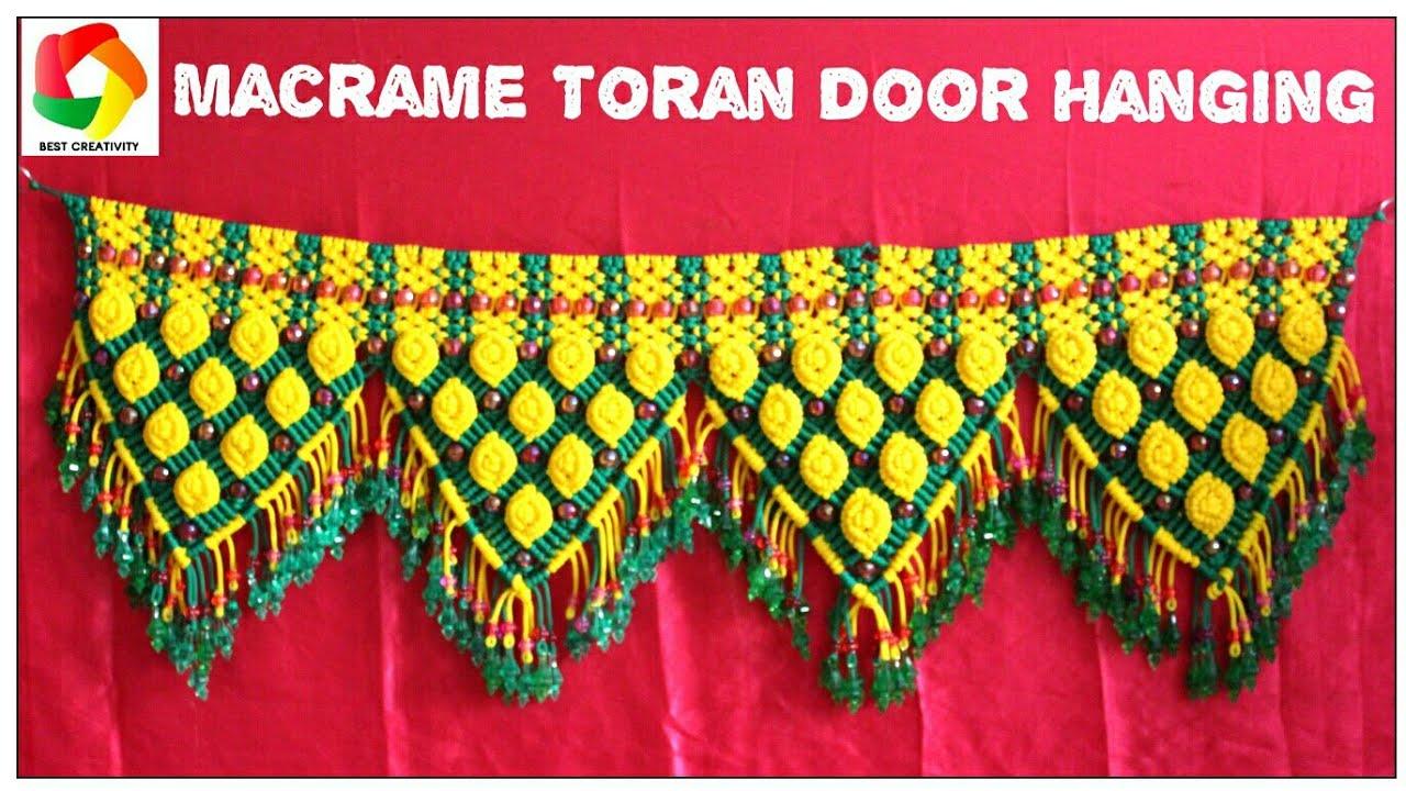 Simple Macrame Toran Door Hanging New Design Hanging