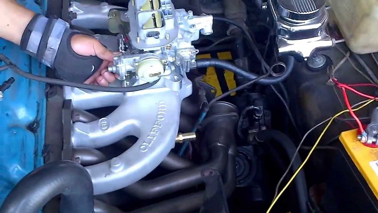maxresdefault 1972 dodge dart slant 6 with clifford performance intake and open  at n-0.co