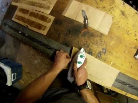Ski Bum WizDumb: How To Clean & Re-Glue Backcountry Ski Climbing Skins (the lazy & cheap way)