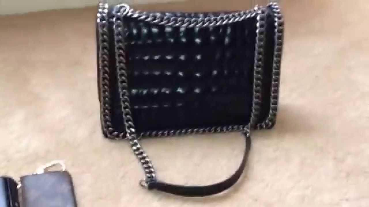 150a7996f9 (SOLD) Zara Chain City Bag - YouTube
