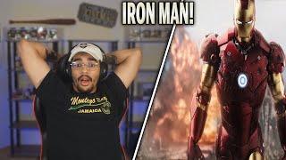 Iron Man (2008) Movie Reaction! FIRST TIME WATCHING!