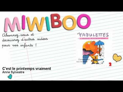 Anne Sylvestre - C'est le printemps vraiment - Miwiboo