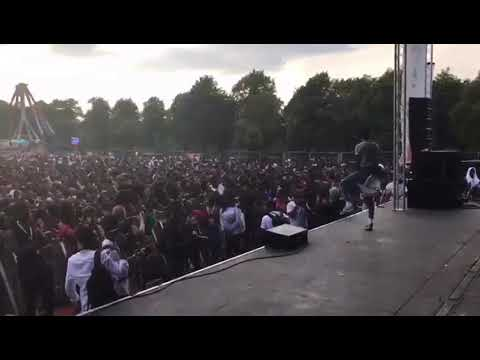 Rockstar performance by Kuami Eugene at Ghana Party in the Park UK 2018
