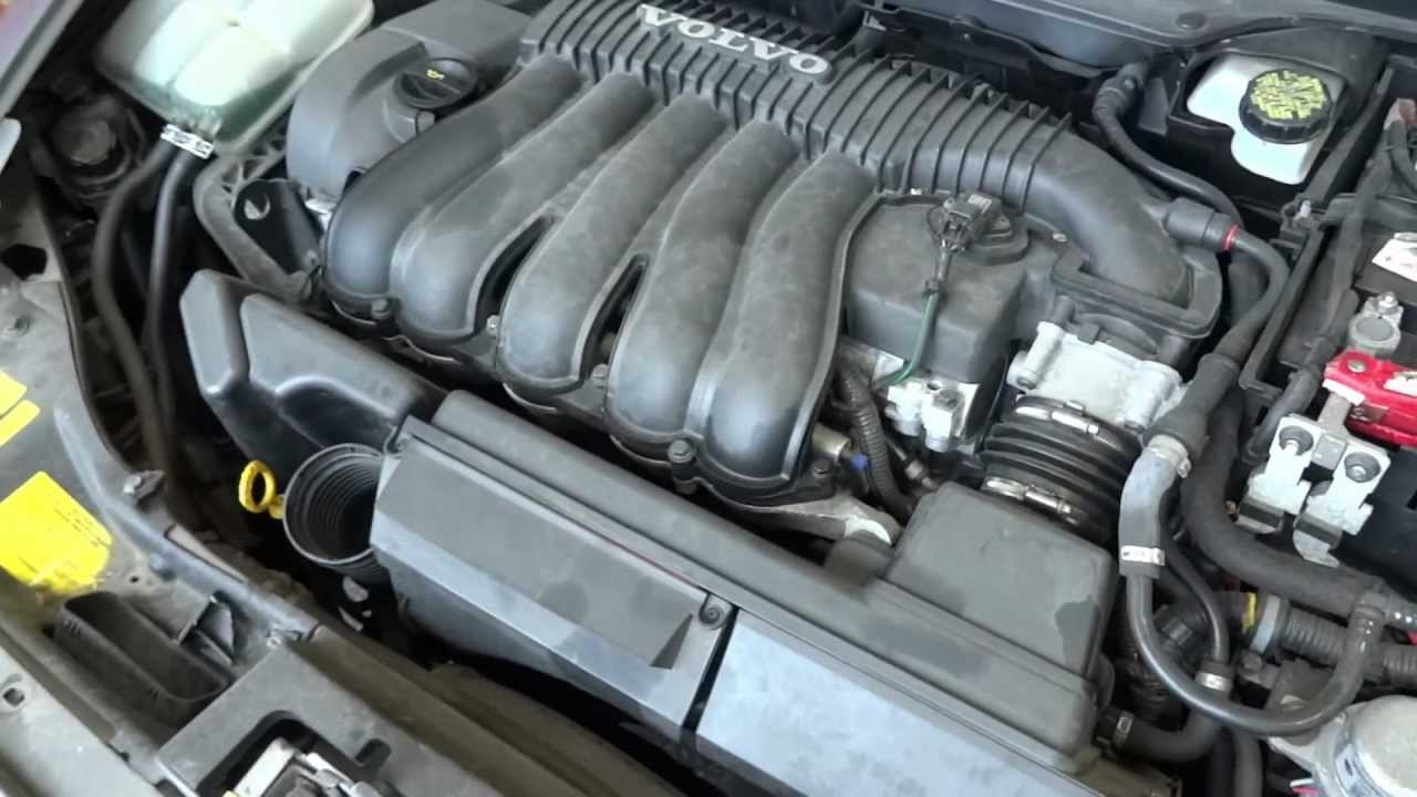 2005 Volvo S40 engine with 44k miles - YouTube