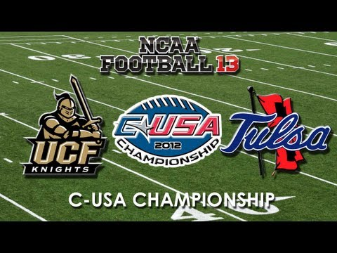 2012 CONFERENCE USA CHAMPIONSHIP: UCF KNIGHTS VS. TULSA GOLDEN HURRICANE