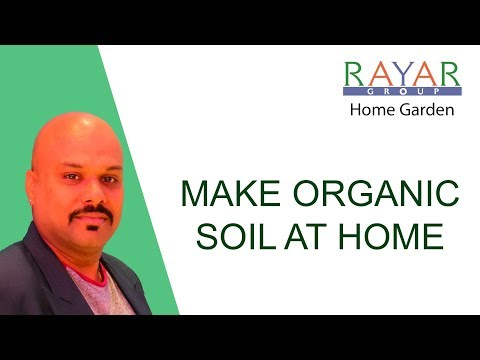Organic Soil from Decomposable Waste at home