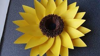 How To Make Adele Giant Paper Flower (sunflower)