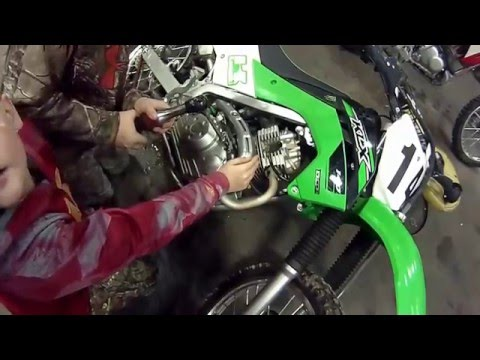 SOLVED 2008 Kawasaki KLX 140 How To Reset The Timing Fixya