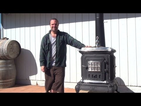 How I Restored This Wood Burning Stove PART 1 *Step by Step *DIY