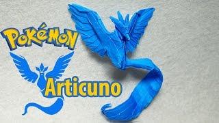 POKEMON GO - Origami Articuno Team Mystic Tutorial (Henry Phạm)
