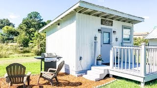 Beautiful The Lakefront Shed Turned Vacation Villa Tiny House   Living Design For A Tiny House