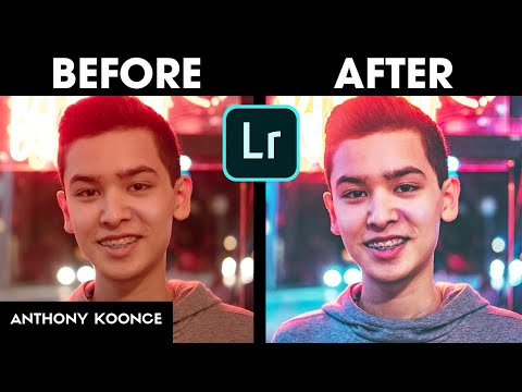 How I Edit My Instagram Photos In Lightroom CC  (Before And After Tutorial)