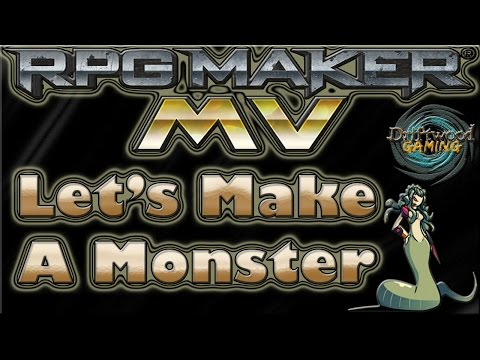 Let's Make A Monster ☻ Medusa √ RPG Maker MV Tutorial - RMMV - RPGMMV