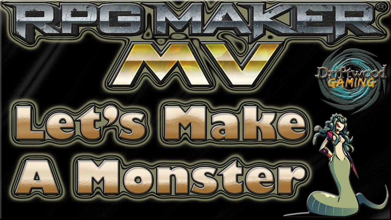 Let's Make A Monster ☻ Medusa √ RPG Maker MV Tutorial - RMMV - RPGMMV