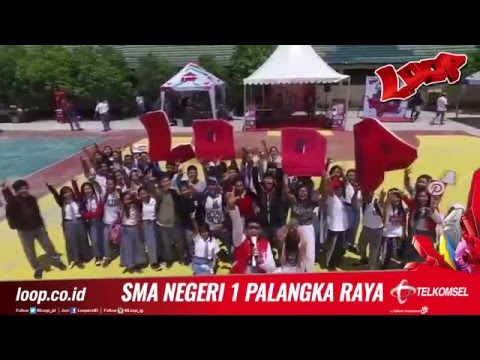 TELKOMSEL LOOP KEPO    SMAN 1 Palangka Raya After Movie