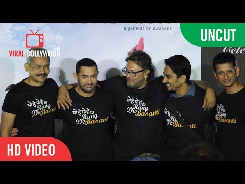 UNCUT - Celebrating 10 years of 'Rang De Basanti' | Aamir khan | Sharman Joshi | Siddharth