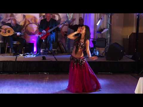 "Jacinda improvises to ""Sawah"" - Vintage style - Jewels of the Orient Festival 2017 JPIP"
