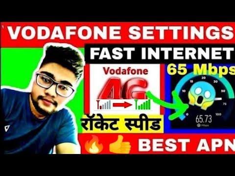 Vodafone Apn Settings 2020 How To Increase Vodafone Internet Speed Kaise Badhaye Vodafone Net Speed