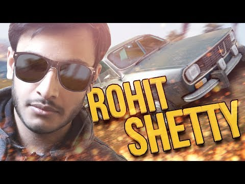 ROHIT SHETTY CAR STUNTS | PUBG INDIA | RAWKNEE