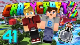 Minecraft Crazy Craft 3.0: I GOT PRANKED BY LACHLAN AND ALI-A! #41 (Modded Roleplay)