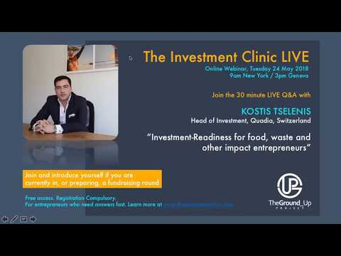 Investment Clinic LIVE with Kostis Tselenis
