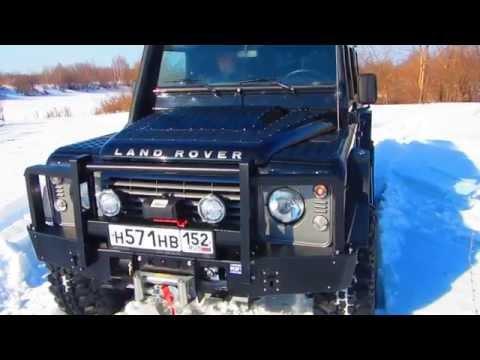 Тюнинг внедорожника Land Rover Defender 110