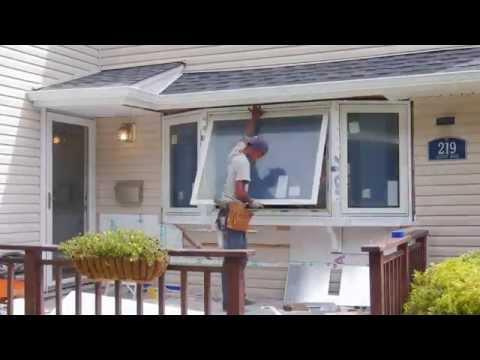 Bow Window / Bay Window Installation - Long Island, NY