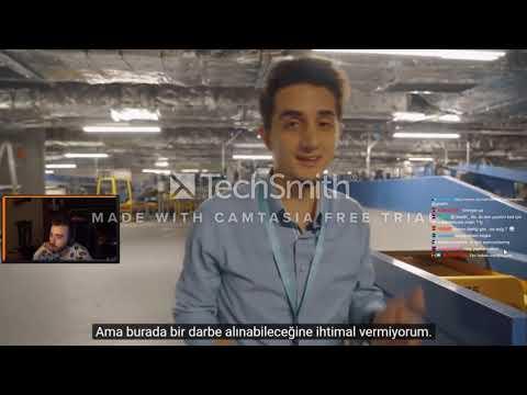 WtcN - Ruhi Çenet İstanbul Havalimanı Videosunu İzliyor #WTCN #RUHİÇENET
